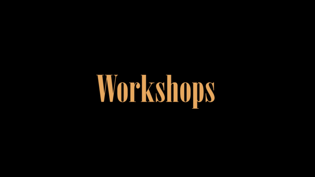 Trailer Workshops - #8 eXplore Festival